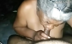 Busty granny suck off cock &amp_ get cum on tits