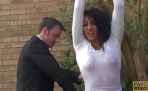PASCALSSUBSLUTS -  Pierced Louise Kay drilled before facial