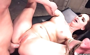Security dude anal bangs unlighted babe