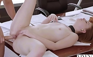 VIXEN Intern Gets Dominated By Her Father'_s Business Partner And Loves It