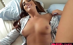 Stepbro banging Scarlett Maes sweet twat with his huge man meat!