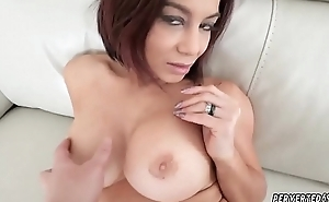 Milf seduces younger woman Ryder Skye in Stepmother Sex Sessions