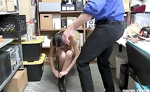 FUCKING old jailer instead going to JAIL