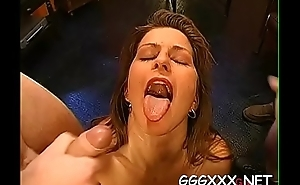 Sexual and salacious group orgy session with sexy babes