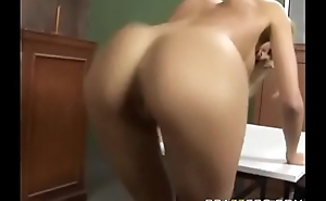 Jenny Hendrix shakes her Anus for the Judge, Jury, And Cock.