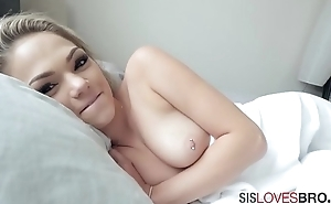 Sister bribes pussy  for Brother'_s service