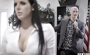 Corrupt businessman fucks big boobs MILF councilwoman