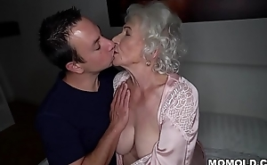 Be quiet, my husband'_s sleeping! - Surpass granny porn ever!