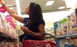 Hot girl at Target