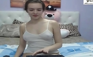 Petite Teen'_s Playful Live Webcam Show 1