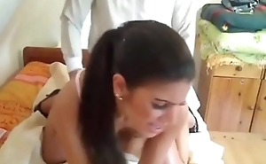 my brother'_s german girlfriend likes when i fuck her from behind